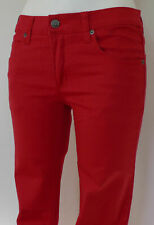 CHEAP MONDAY DAMEN JEANS mod. NARROW UNISEX SKINNY  div. GR. col. RED OCCASION