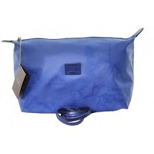 Borsa Alviero Martini Prima Classe Beauty pochette Overlight art. 120199 bluette