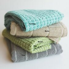 Super Absorbent Quick Drying 3 Pack Large 50 x 80 Kitchen Microfibre Tea Towels