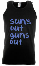 Petite fit SUNDAY FUNDAY 22 Jump Street softfeel Tshirt Suns out Guns Out NEW