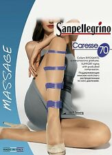"SANPELLEGRINO ""CARESSE 70"" SET 5 COLLANT RIPOSANTI COLORE ANTILOPE"