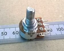 16mm STEREO Potentiometer, Flatted D-Shaft Dual Linear Pot