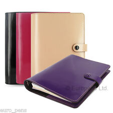 Filofax Original Patent Leather A5 Size Organiser - All Colours Available