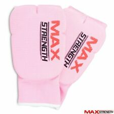 MAXSTRENGTH® Karate Mitts Elasticated Padded Inner Gloves Martial Art Boxing MMA