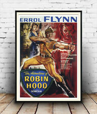 Robin Hood  : Old Errol Flynn movie film Poster reproduction