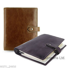 Filofax Malden A5 Size Leather Organiser - All Colours Available