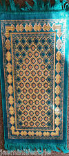 New Kids Islamic Salah Prayer Mat Janamaz Rug Beautiful Tassels Musalah