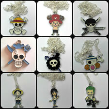 Anime 'One Piece' necklace choose your favourite Luffy, Chopper, Zoro, Robin etc