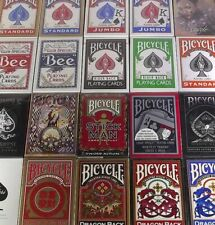 US Playing Cards Bicyle Rider Bee Deck standard speciale truccato gaff
