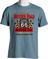 Route 66 Souvenir T Shirt American Mother Road Trip Mens Small to 6XL and Tall