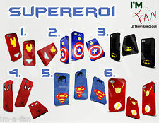 Cover Avengers Supereroi iPhone 3 4 5 6 Galaxy S5 S4 S3 S2 Mini Note NEXUS 5 4 Z