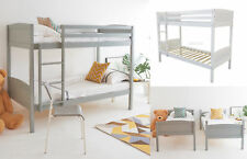 FoxHunter Bunk Bed 3FT Wood Wooden Frame Children Sleeper No Mattress Single New