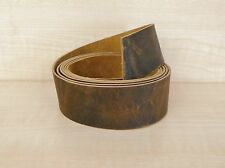 HORWEEN LEATHER BELT & STRAP BLANKS VARIOUS WIDTHS  VANDYKE 2 mm THICK PULL-UP