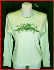 Bnwt Authentic Womens Oakley Transit Pyjama Top Mint Green New
