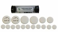 Instrument Clinic White Leather Clarinet Pads, Made in USA!
