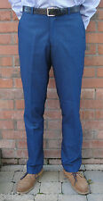 BLUE TONIC STA PRESS TROUSERS-MOD RETRO SKINHEAD NORTHERN SOUL SKA RELCO SCOOTER