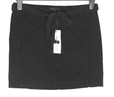 Bnwt Women's French Connection Skirt + Belt Fcuk RRP£45 New Black