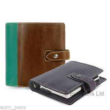 Filofax Malden Pocket Size Leather Organiser - All Colours Available