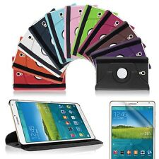 Samsung Galaxy Tab S 8.4 T700 T705 360° Rotating Leather Stand Rotate Cover Case