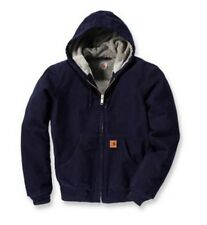Carhartt 101051 Sherpa Lined Sandstone Active Jacket midnight