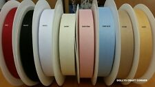 "HERRINGBONE BUNTING TAPE 1"" 25mm 20 OR 50 METRE ROLLS OR BY THE METRE 8 COLOURS"