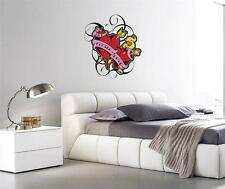 Wall Art sticker - Full Colour - Halloween - Tattoo InkFected Love Heart
