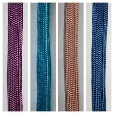5m Various Colours Bias Piping Cord for Binding Covered Insertion Tap 7mm Edging
