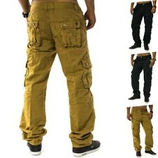 Cargo Hose Jeans Loose Fit Chinohose Cargohose Work Trousers Men Trophy Plus