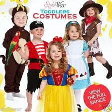 Boys Girls Toddler XMASS Book Day Costume School Fancy Dress Toddlers Age 4Years