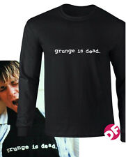 NIRVANA Kurt Cobain replica Grunge is Dead Long Sleeve T shirt unique