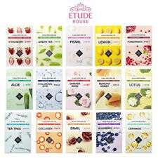 UK STOCK Korea Etude House 0.2 Therapy Air Mask x10 (New I need you Face Mask)