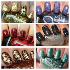 Orly Christmas GLITTER Top Coat & Orly FX Nail Varnish Collection 15ml bottles!!