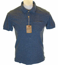 Bnwt Men's Authentic Abercrombie & Fitch Muscle Polo Shirt Vintage Wash Jersey