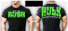 Monsta Clothing Mens Workout Bodybuilding Gym wear Hulk Out Graphic T Shirt New