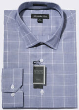 Alexander Hay Premier Two Fold Cotton Easy Iron Prince of Wales Check Shirt G001