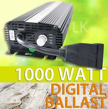 1000W Digital Electronic Ballast Dimmable HPS MH Switchable 120V 240V Volta