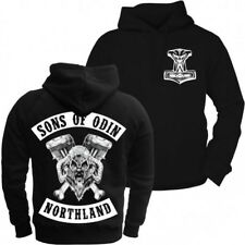 Kapuzenpullover Sons of Odin northland wikinger vikings walhalla valhall hoodie