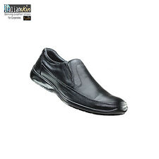 0 Italian Skin Leather Shoes in Black Color Sku Id ay-1230