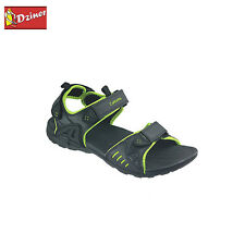 D'Ziner Sporty Men Floater Sandals In Blackgreen Color Sku Id - Clt1512