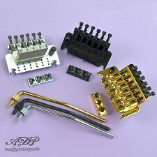 Authentic FLOYD ROSE SPECIAL Complet Set LockNut Tremolo Arm CHROME BLACK GOLD