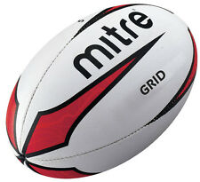 Mitre Grid Rugby Ball B2104 Match Training Practice Balls Sizes 3-5