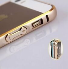 Dual Tone Circular Arc Shaped Metal Bumper Case Cover for iPhone 5 5S