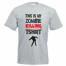 THIS IS MY ZOMBIE KILLING T-SHIRT - Halloween / Ghost / Funny Men's T-Shirt