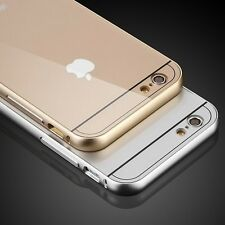 2015 new Aluminum Ultra-thin Metal Case Back Cover Skin for Apple iPhone 6 4.7''