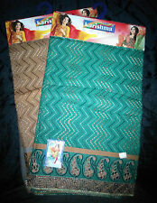 Pure cotton salwar material with embroidery and mango design border