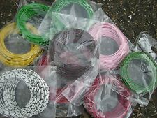 10mts of 16/0.2mm Equipment / Hook up Wire 3Amp at 1000vRMS Various Colours PVC