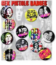 "SEX PISTOLS/ SID VICIOUS/JOHNNY ROTTEN/ PUNK/ 25 MM/ 1 "" BADGE ~ WOW!!!"