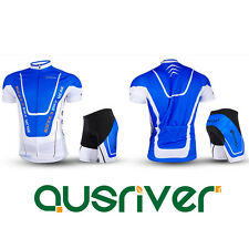 Men Bicycle Cycling Bick Clothes Jersey Shirts Shorts Pants Trousers Set Padded