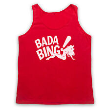 THE SOPRANOS UNOFFICIAL STRIP CLUB BADA BING TANK TOP VEST UNISEX T SHIRT SIZES