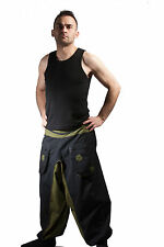 HAREM PANTS, yoga trousers, women harem trousers, men harem pants, aladdin pants